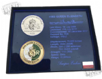 Queen Elizabeth Official Challenge coin box set